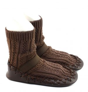 Sokpantoffels - Brown
