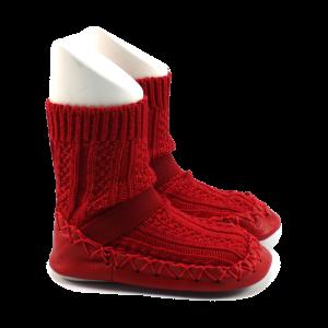 Sokpantoffels - Rood